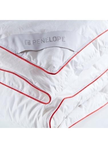 Penelope Alegra Kaz Tüyü Çift Kişilik Yorgan 195x215 Beyaz